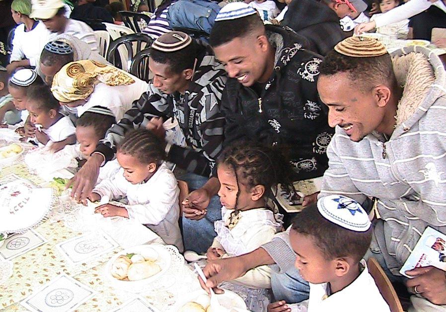 Israel's biggest passover seder