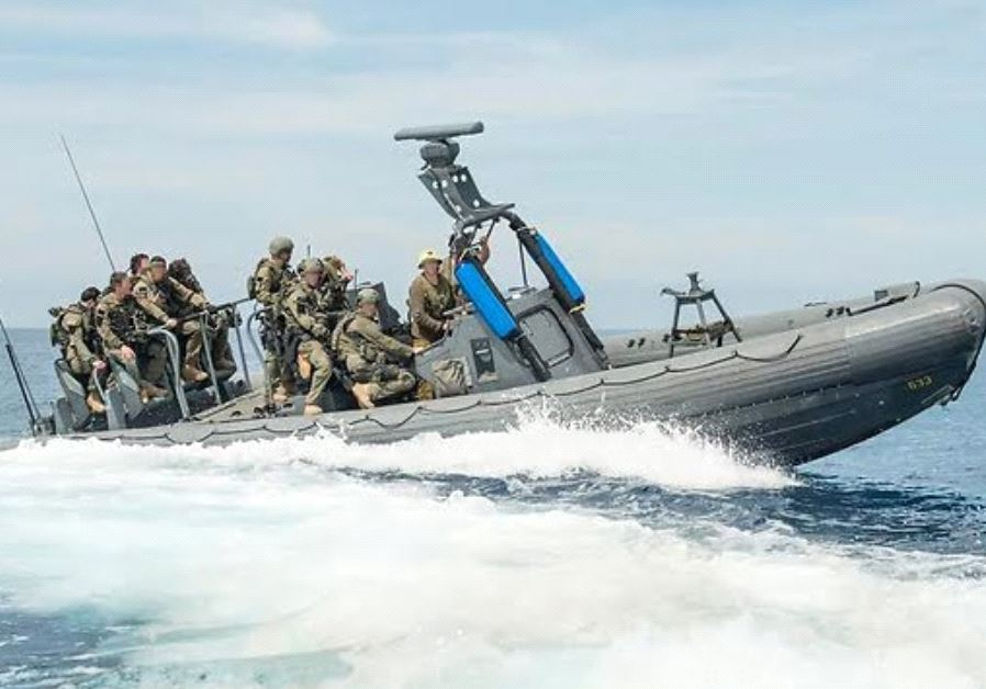 Elite soldiers from the IDF's Shayetet 13 special operations unit joined forces with US Navy SEALS