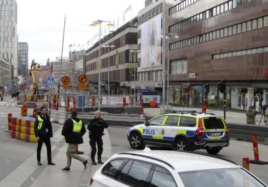 3 killed in suspected terror attack in Stockholm, Sweden - April 7, 2017