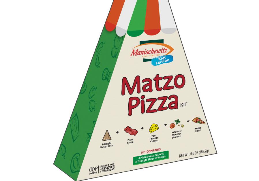 Manischewitz matza pizza
