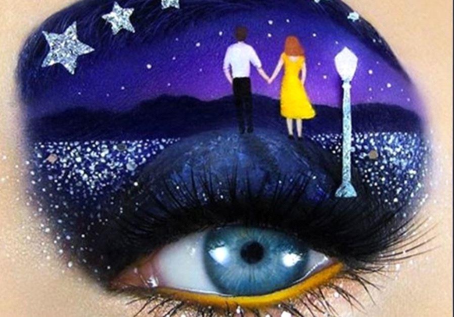 Israeli makeup artist Tal Peleg's unique creation