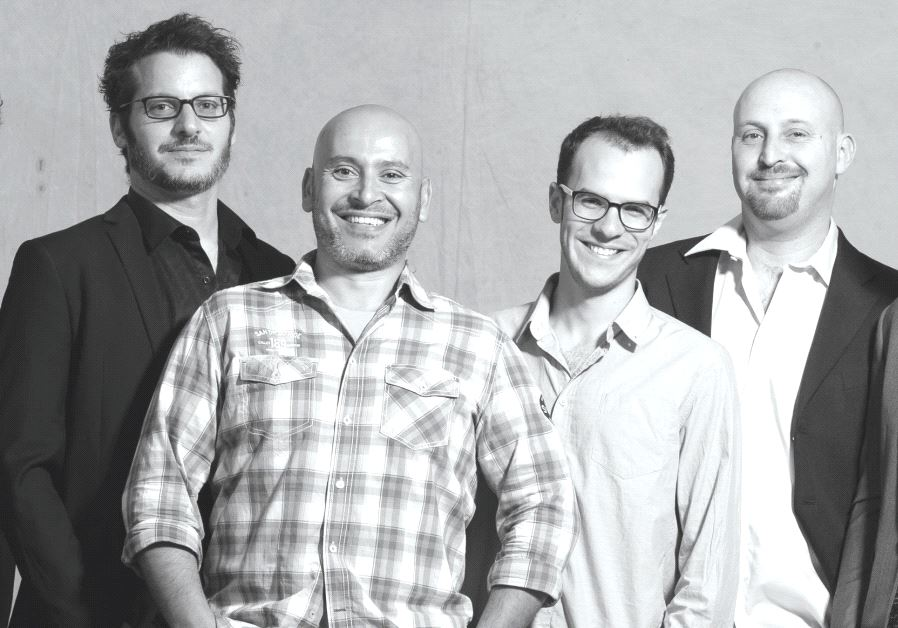 Hagiga founder and reedman Alon Farber (second from right) seen here with the rest of the group