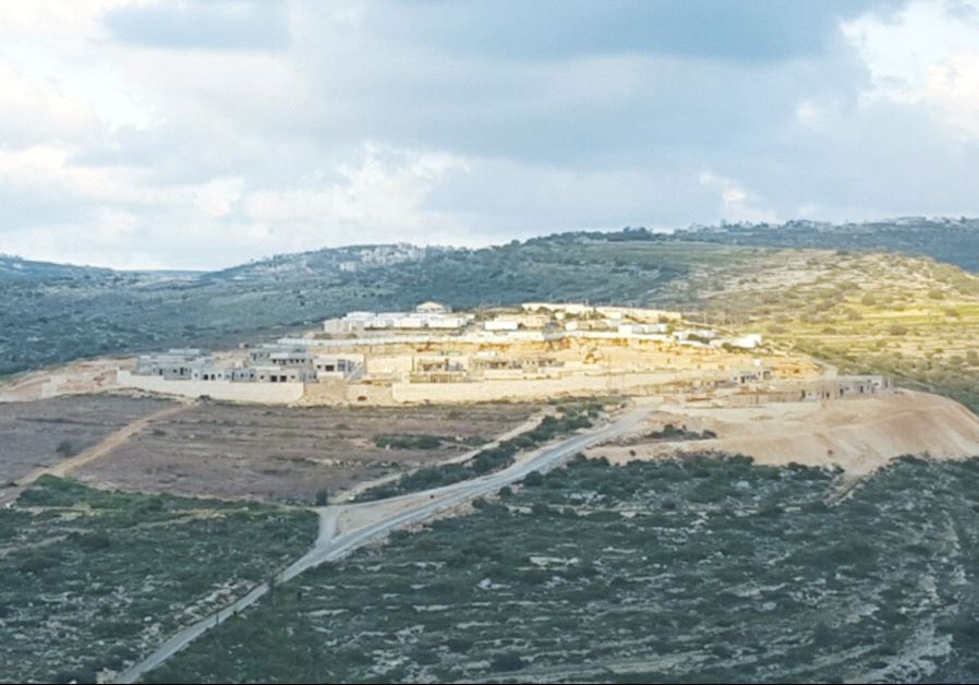 KEREM REIM is shown in this aerial view