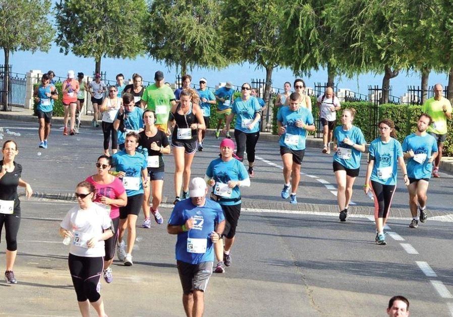 running in Haifa