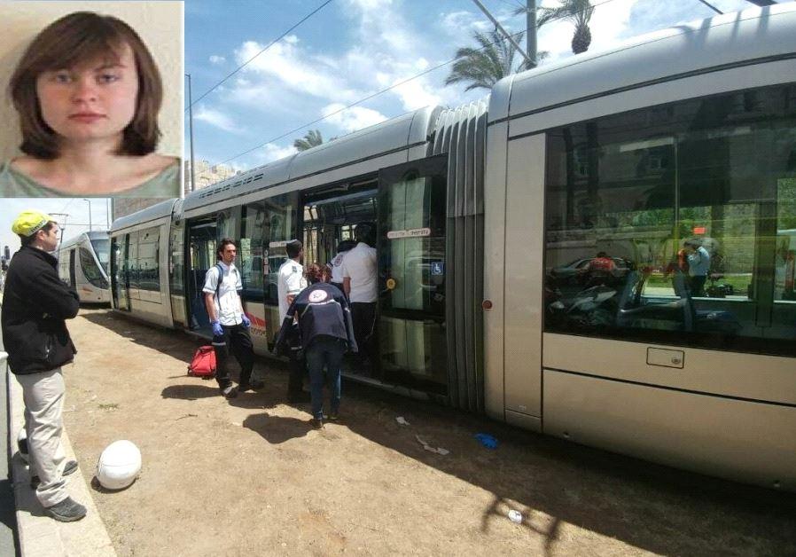 Hannah Bladon, the victim of a stabbing attack at Jerusalem's light rail.