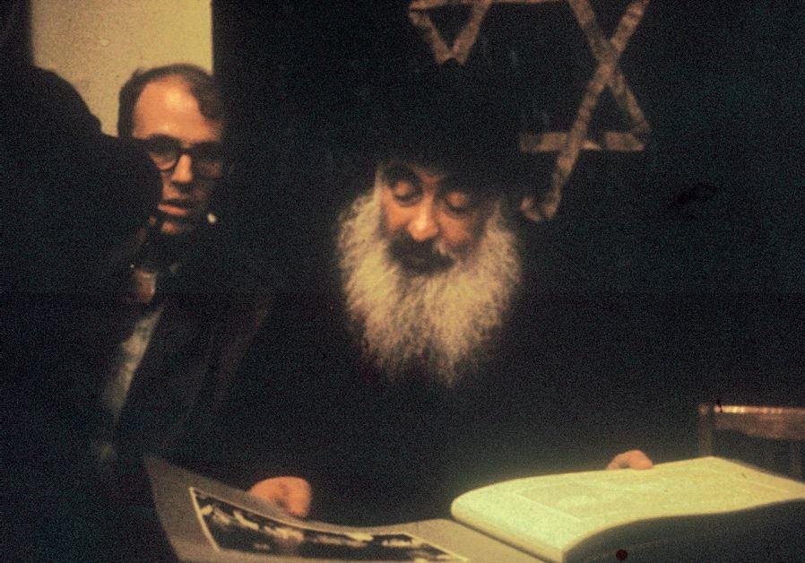 JONATHAN PORATH (left) meeting with Rabbi Yehuda Levin, Chief Rabbi of Moscow's Archipova Street Syn