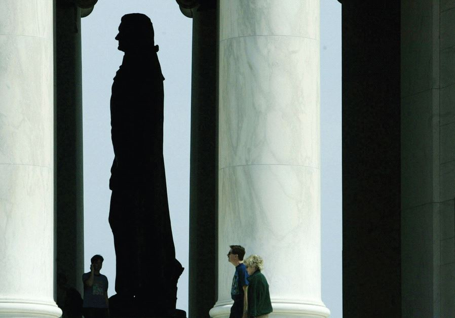 In the eyes of the founding fathers, the American Moses is not Moshe Rabbeinu