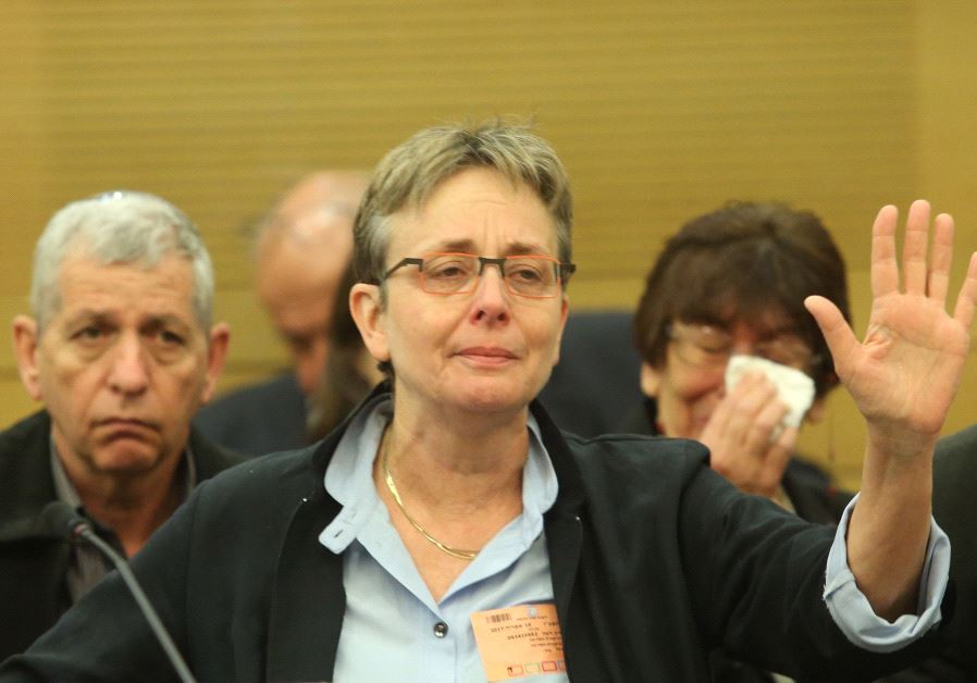 Leah Goldin, the mother of slain IDF soldier Lt. Hadar Goldin