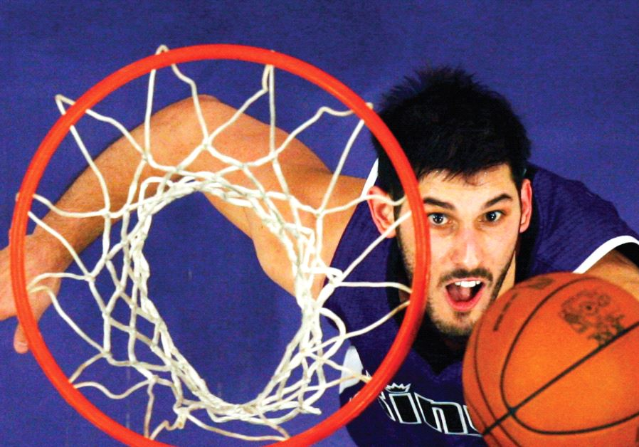 Israel national team and Minnesota Timberwolves forward Omri Casspi took part in Basketball Without