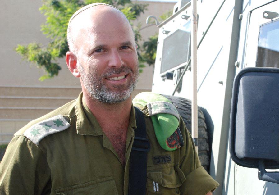 YONATAN BRANSKI, a former IDF colonel.