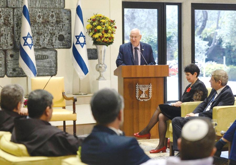 PRESIDENT REUVEN RIVLIN addresses clergy at a gathering 52 years after extraordinary changes were ma
