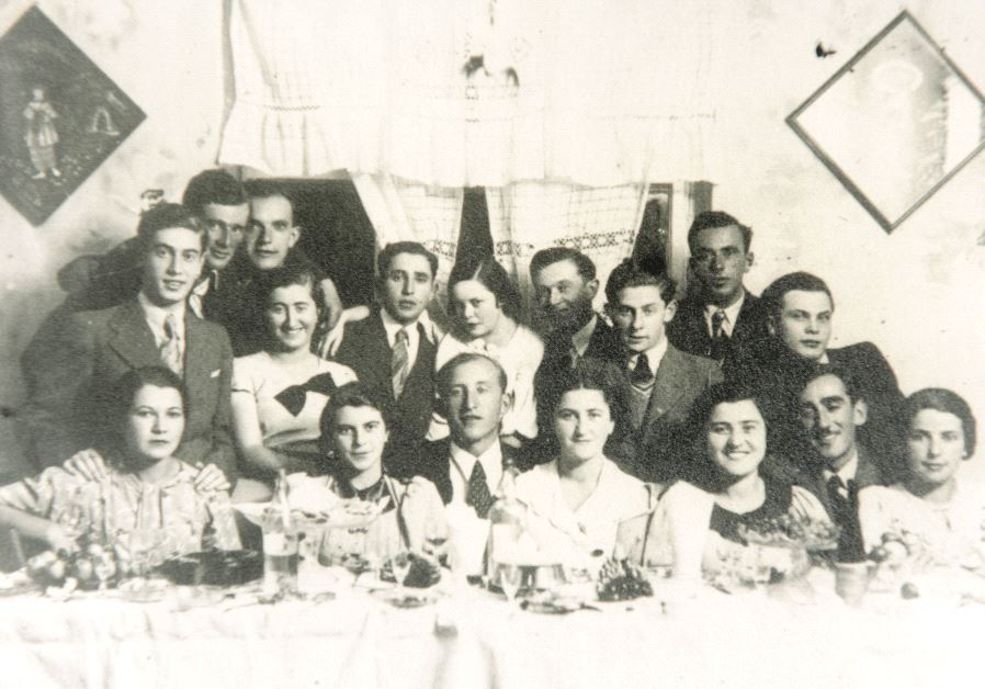 La famille Halperin à Zborow avant la Shoah