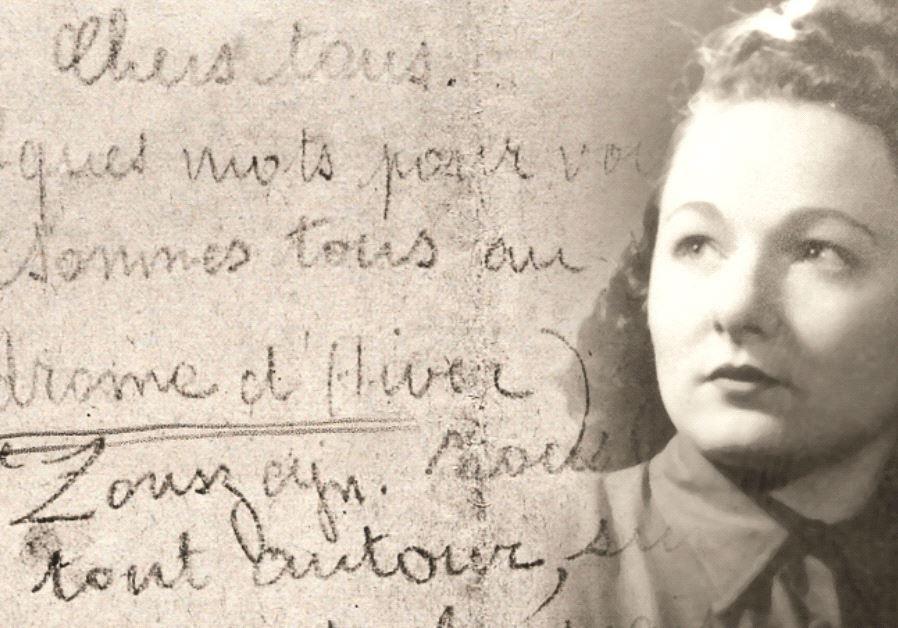 Une lettre écrite par une femme transférée au Vélodrome d'Hive
