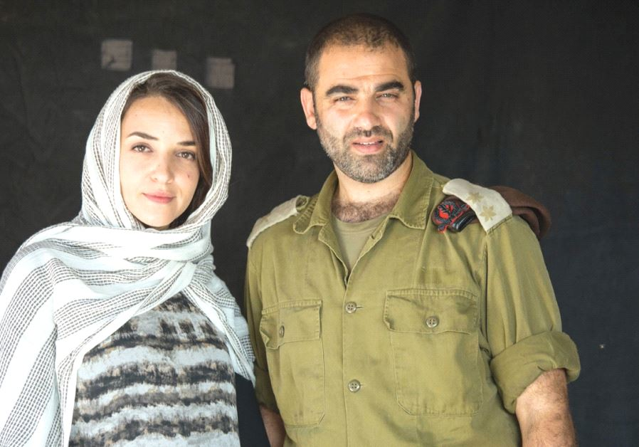 HISHAM SULIMAN (right) and Lucy Aharish in 'Your Honor.'