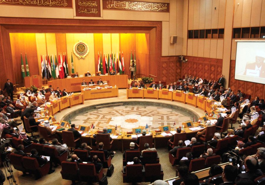 A GENERAL view of the opening session of the Arab Foreign Ministers meeting at Arab League headquart
