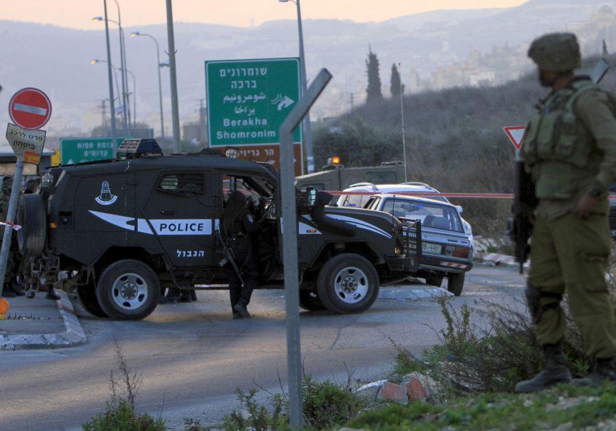 Hawara checkpoint