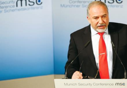 Defense Minister Avigdor Liberman