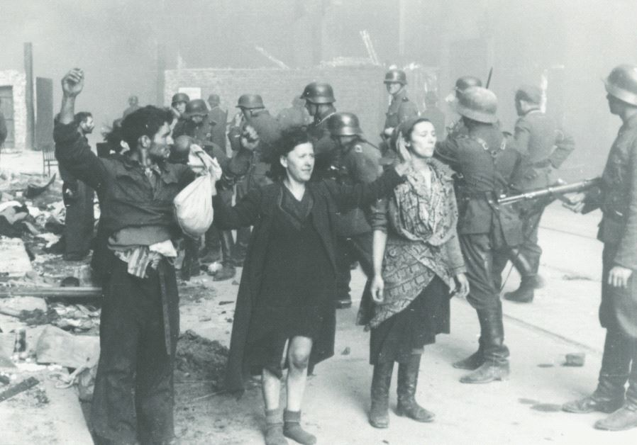 Warsaw Ghetto Uprising in 1943