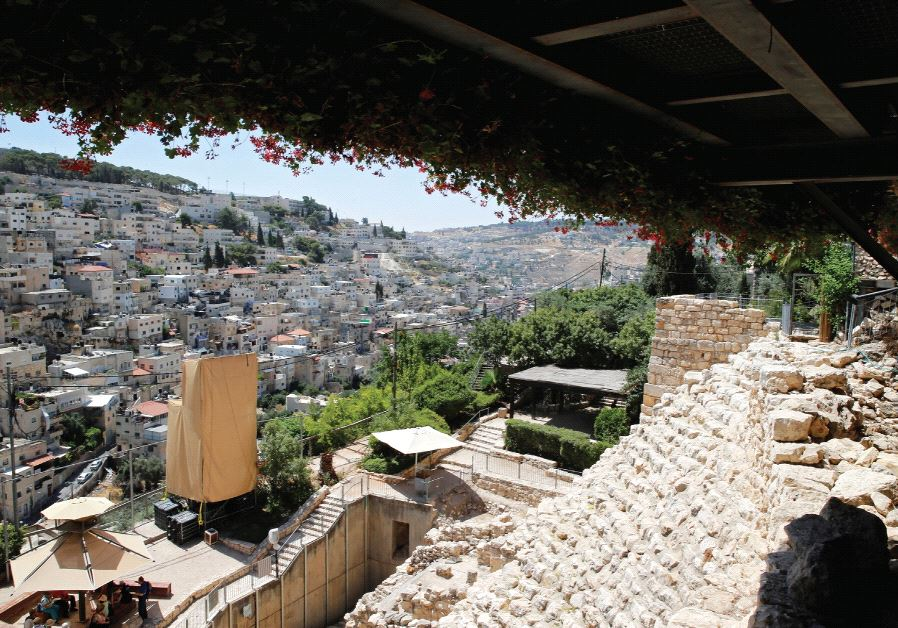 THE ARCHEOLOGICAL site of the City of David. 'The only people for whom the Land of Israel has ever b