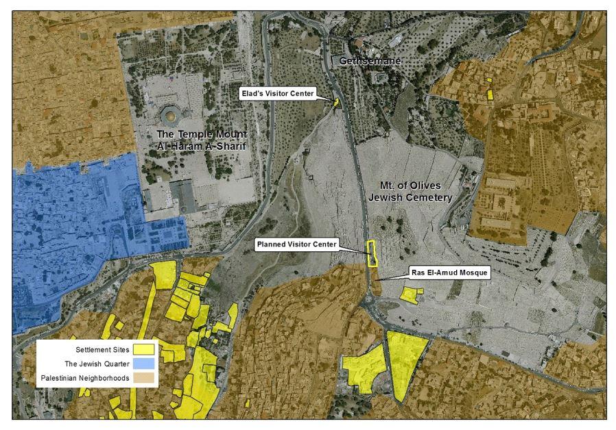 Mount of Olives visitors center