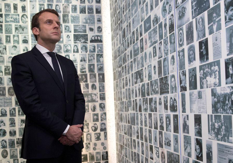Emmanuel Macron holocaust