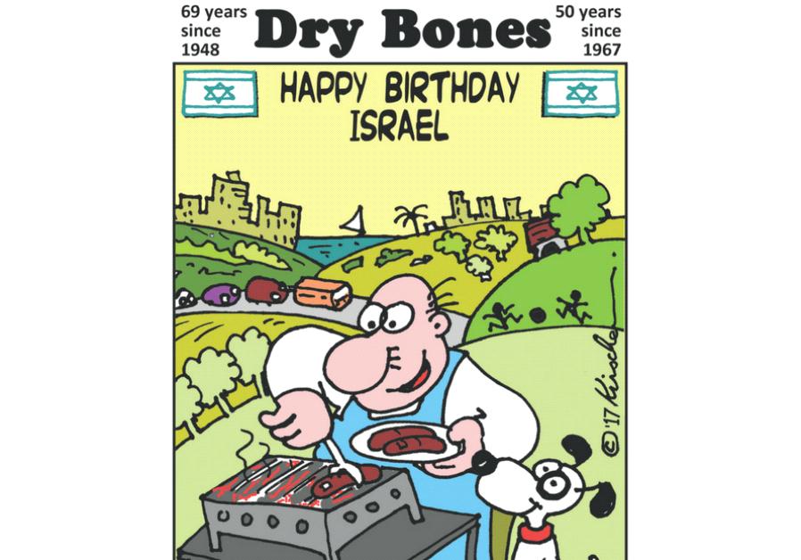 Dry Bones Cartoon, May 1 2017