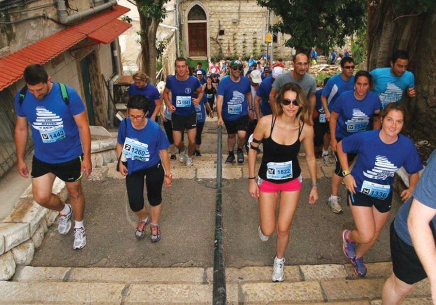 Haifa Stairs Race