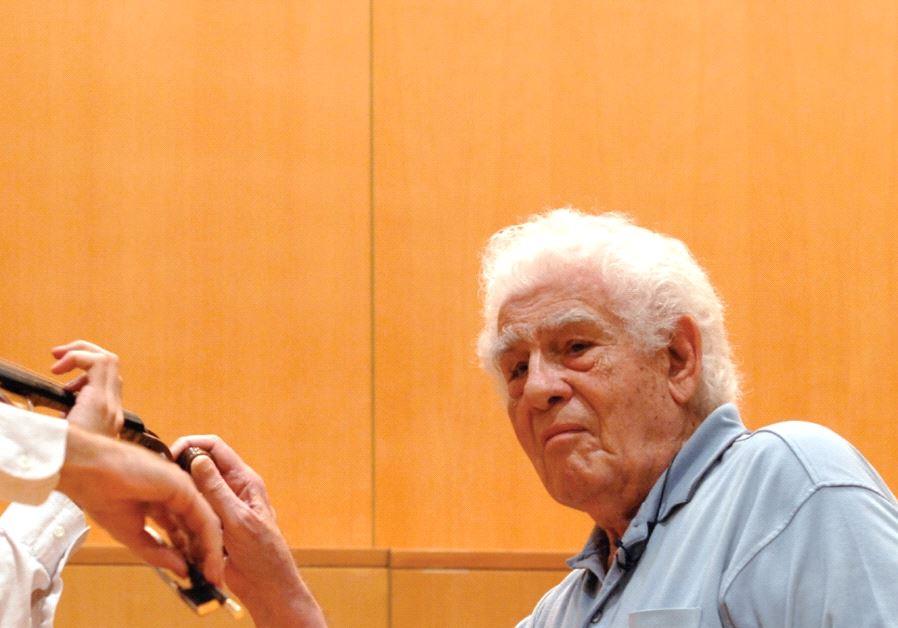violinist Haim Taub