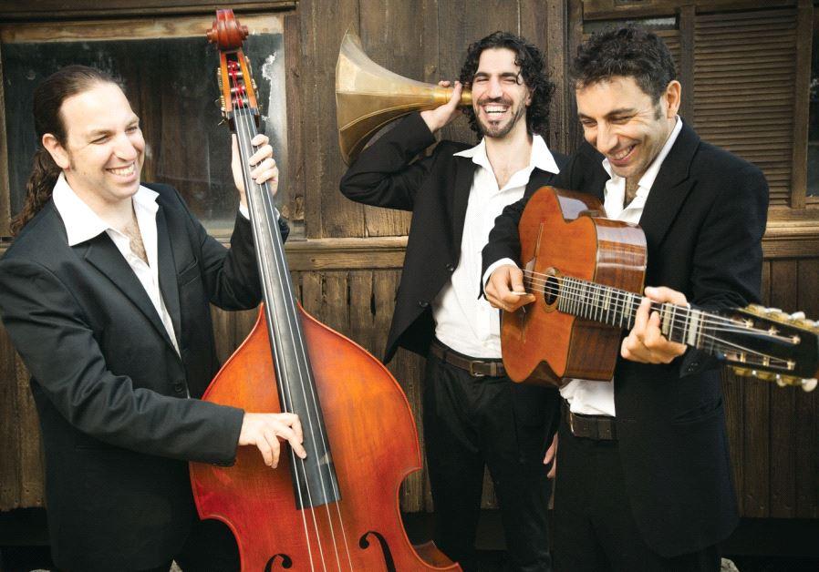 Israeli band Swing de Gitanes