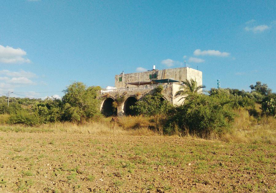 Arab castle Israel