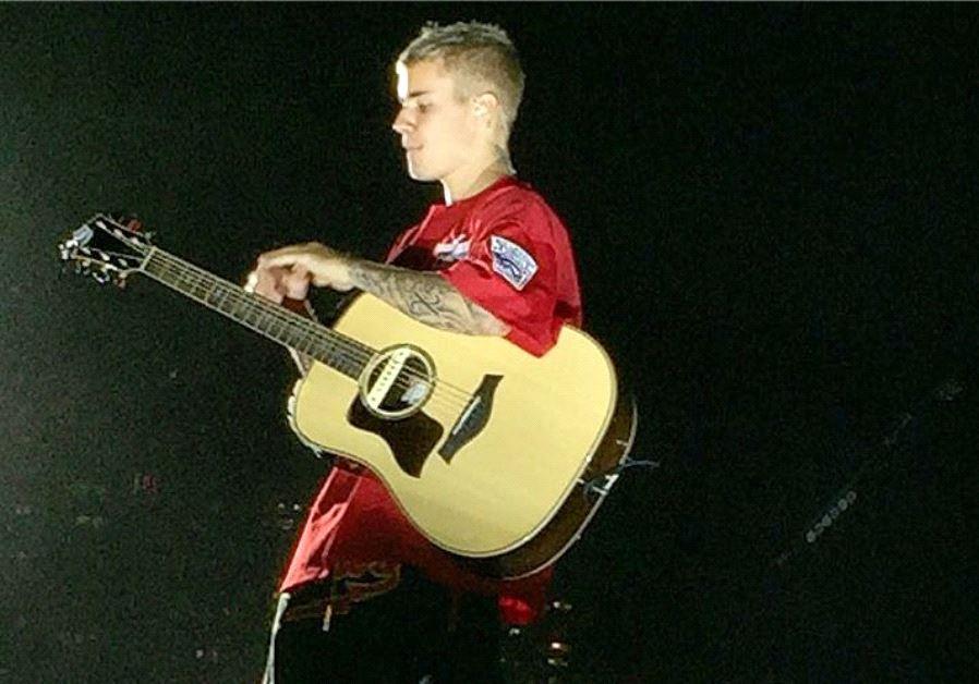 Justin Bieber Tel Aviv