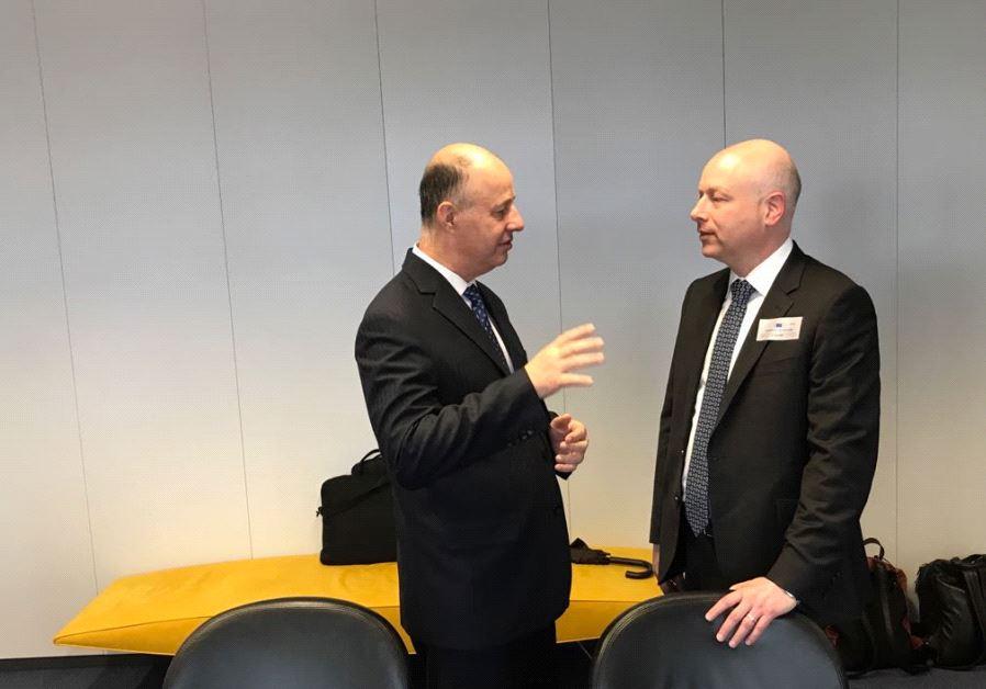 Jason Greenblatt and Tzahi Hanegbi
