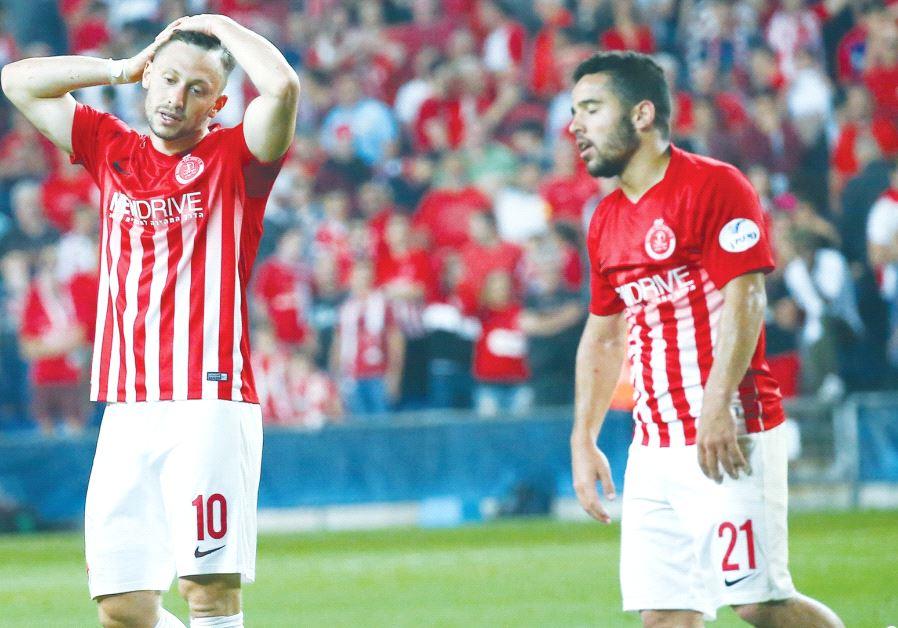 Hapoel Tel Aviv players.