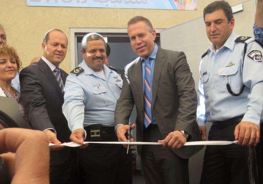 Jerusalem Mayor Nir Barkat, Police Commissioner Roni Alsheikh, Public Security Minister Gilad Erdan