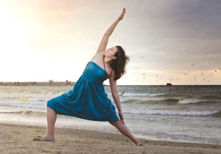 palestinian yoga teacher