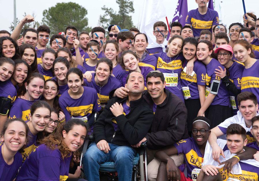 Jerusalem's disabled marathon