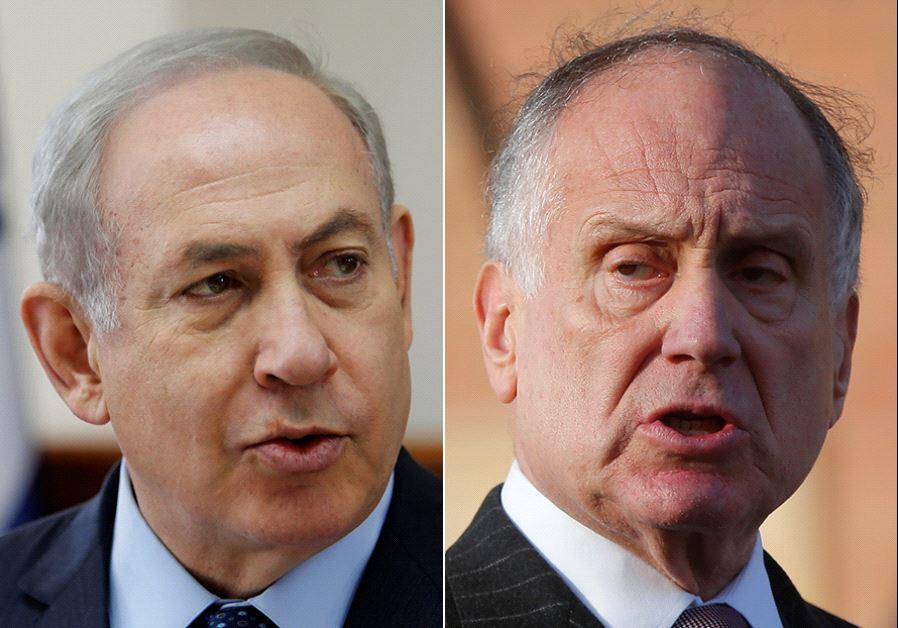 Netanyahu Ron Lauder