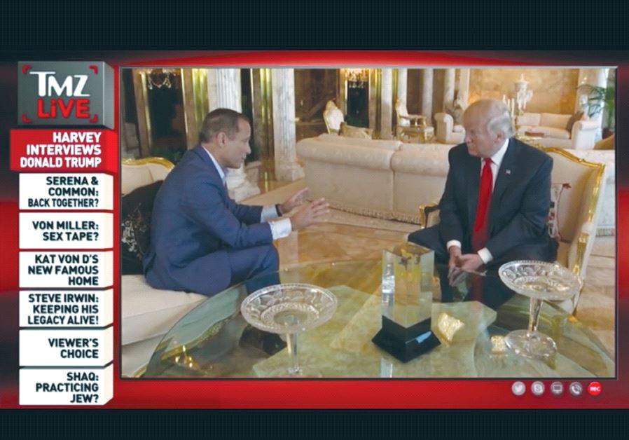 HARVEY LEVIN interviews US President Donald Trump in this preview for the Fox News show 'OBJECTified