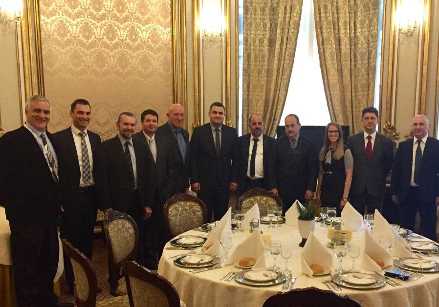 Israeli delegation to Romania