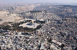 temple mount east jerusalem aerial view 298