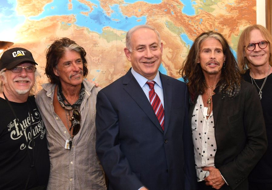 Image result for Aerosmith Israel