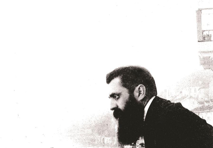 Thedodor Herzl, lors du 1er congrès sioniste mondial en 1897