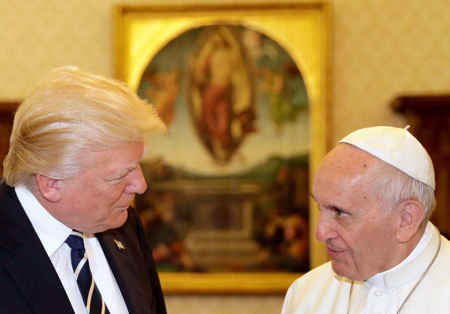 donald trump pope vatican