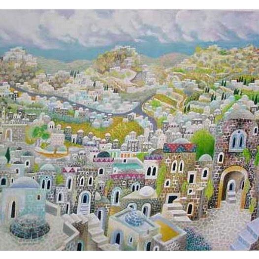 Jerusalem by Baruch Nachshon (credit: JWG LTD)