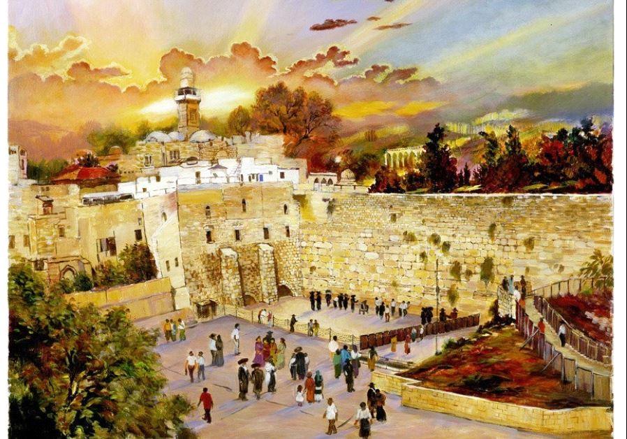 Discover 50 Paintings Celebrating Jerusalem Israel News