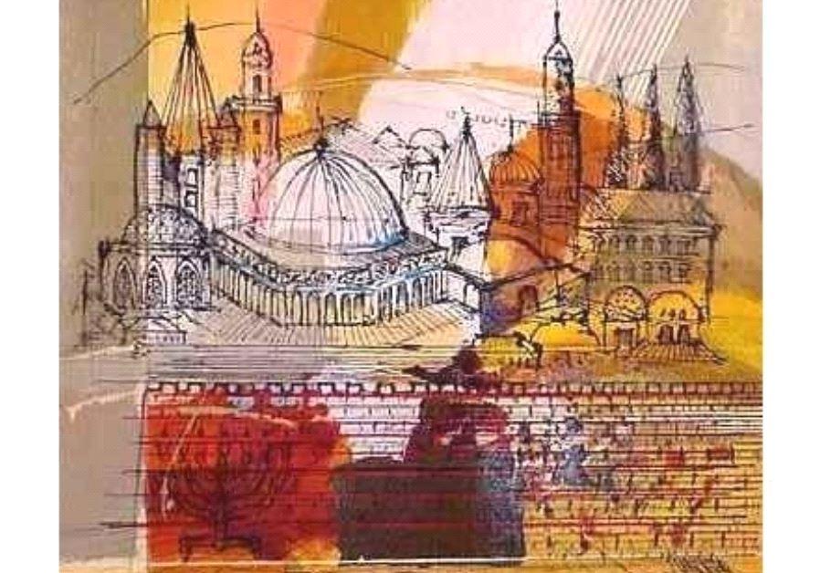 Jerusalem of Peace by Calman Shemi