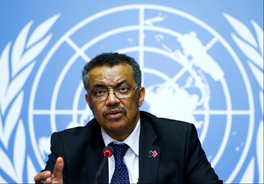 Newly elected Director-General of the World Health Organization (WHO) Tedros Adhanom Ghebreyesus att