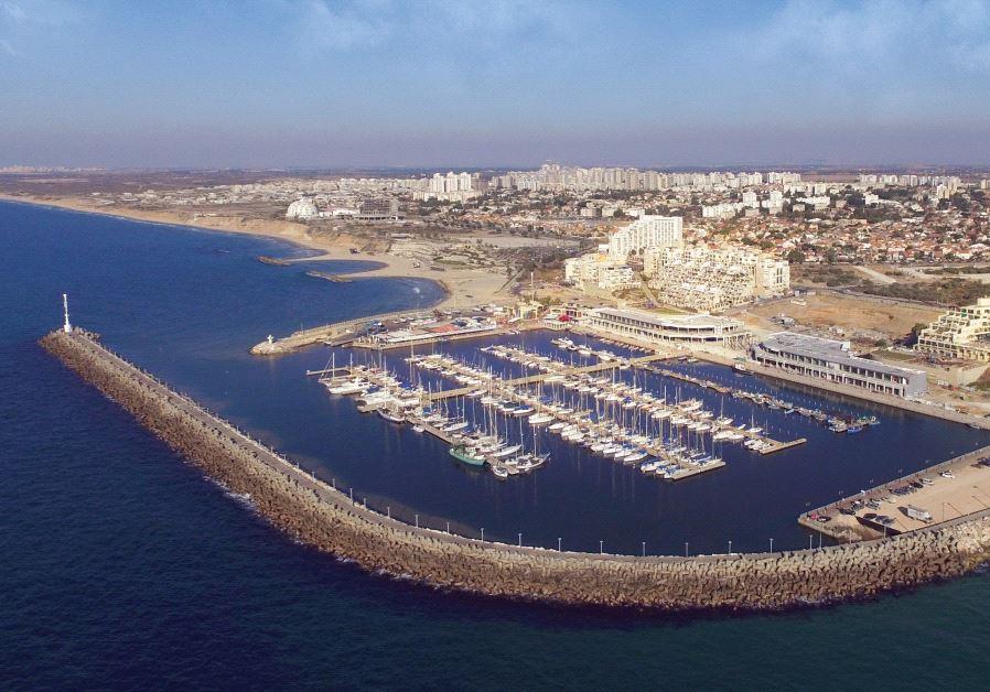 Ashkelon's marina