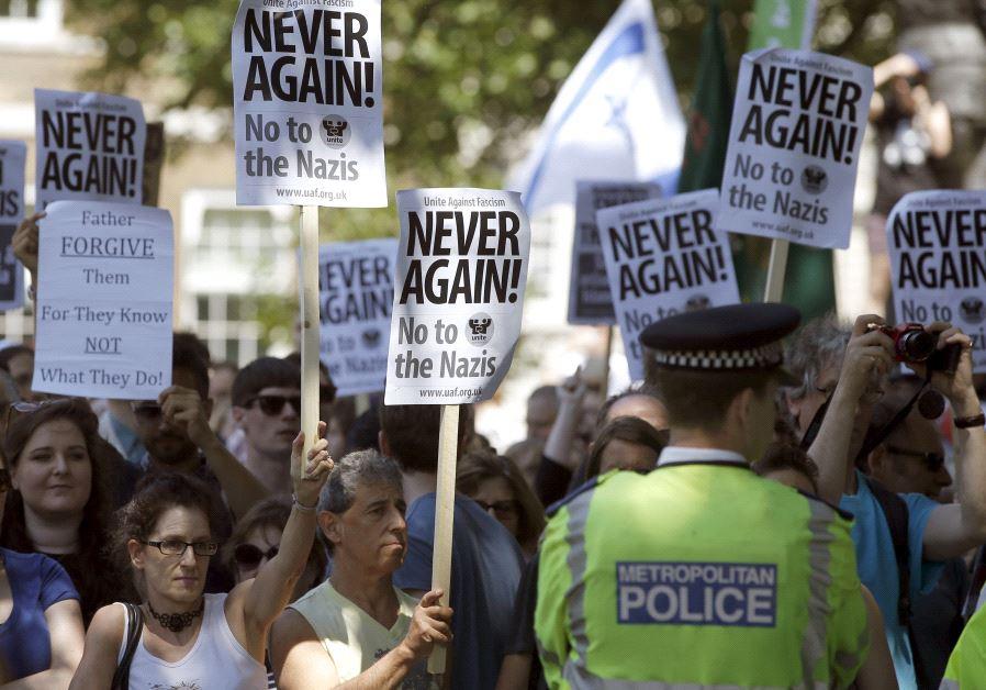 shomrim uk protest