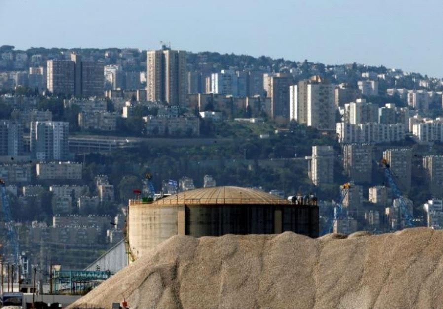 haifa ammonia tank